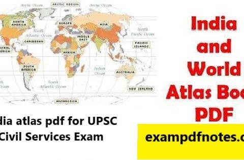 India atlas pdf for UPSC Civil Services Exam