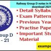 Railway Group D notes in Hindi pdf free download 2021