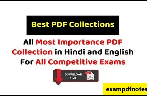 Most important pdf download for all competitive exams