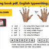 SSC typing test pdf free download for CGL & CHSL